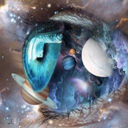 freetoedit galaxy eye planets picsart rcgalaxyeye galaxyeye