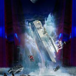 freetoedit film drama flood ship ecneoncity