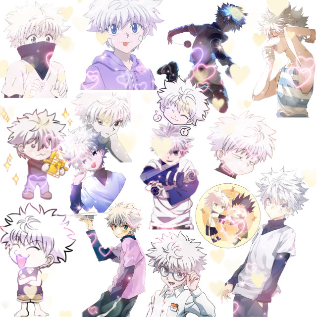 Killua! #freetoedit