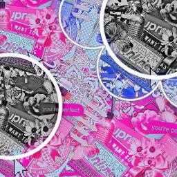 complexbackground complex pink hotpink blue freetoedit