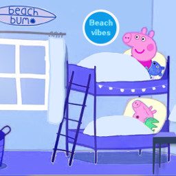 freetoedit peppapig room bedroom peppa
