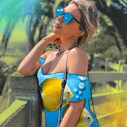 freetoedit summervibes popart creative summergirl