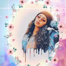 freetoedit aesthetic aestheticedit girl floral