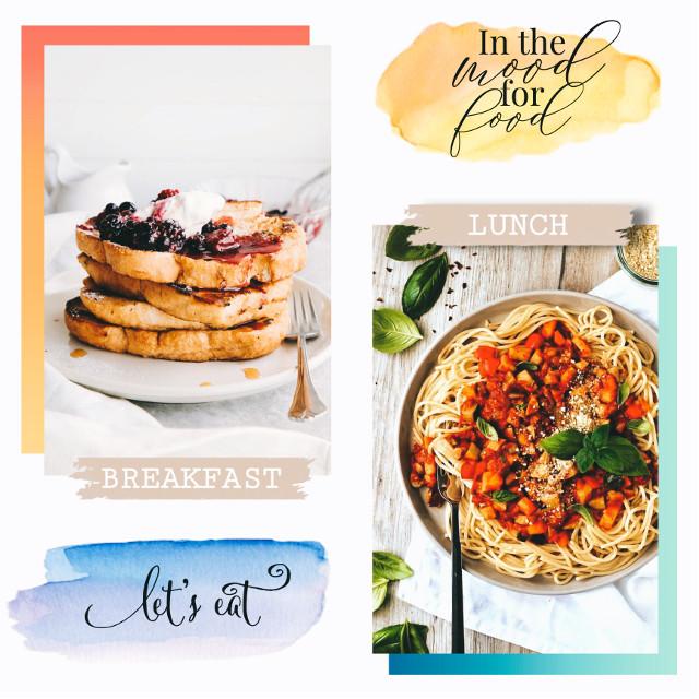 #freetoedit #replay #food #eat #breakfast #lunch