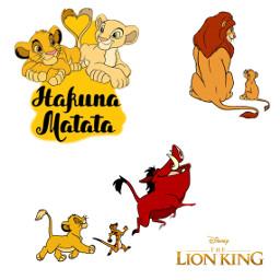 lionking simba hakunamatata freetoedit
