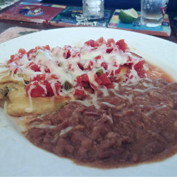 dinner food foodphotography chile chilerelleno