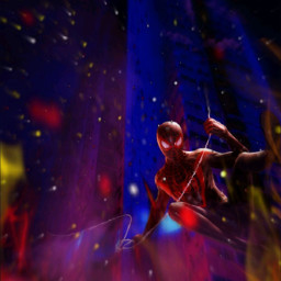 freetoedit superhero spiderman ecneoncity neoncity