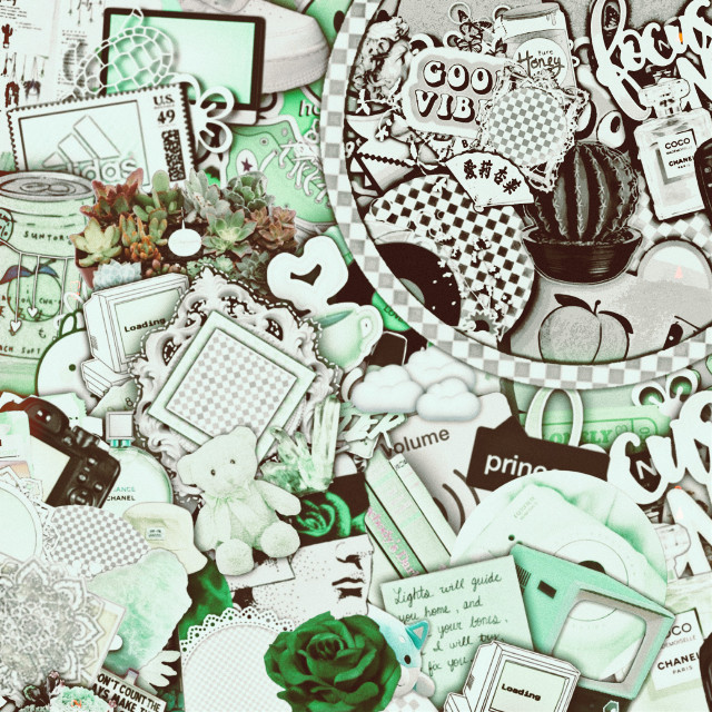 A free to use complex background but give credits!!!!!! #complexbackground #complex #green #white #black #grey #brown #givrcredits #complexedit Btw I did not make the actual background I just add the different colour things!!