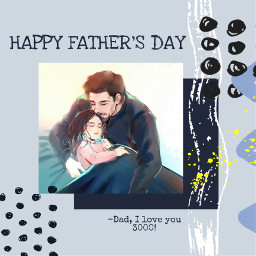 freetoedit fathersday happyfathersday picsartchallenge blueaesthetic rcfathersday