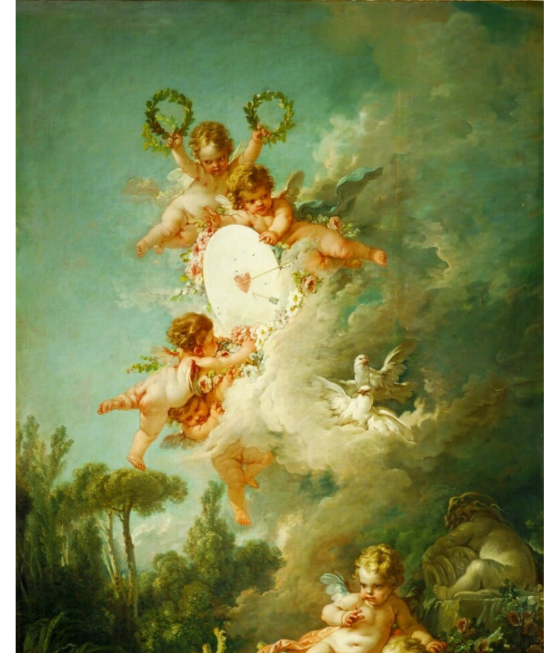 Background Renaissance Painting Sticker By Duda