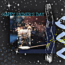 freetoedit sparklers fathersday text happyfathersday rcfathersday