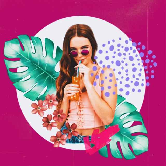 #freetoedit #fanart #art #collage #collageart #tropical