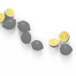 freetoedit lemon eccolorpop colorpop colorsplash