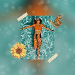 freetoedit aesthetic water summervibes summer