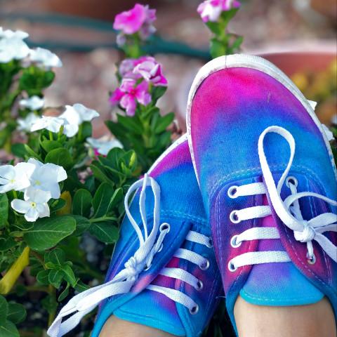 #myfavoriteshoes,#diytyedyeshoes,#athome,#myuniqueshoes,#pcmyfavoritekicks,#myfavoritekicks,#shoes