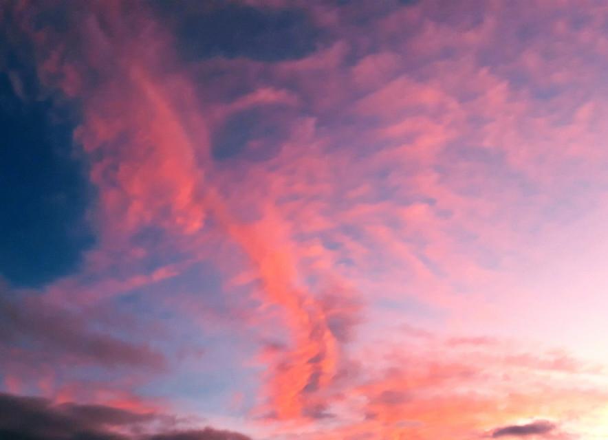 #freetoedit #clouds #pinkclouds #skylover #sunset #naturephotography