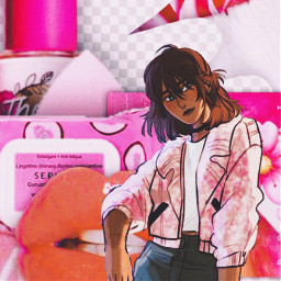 pink girly aphrodite pipermclean pjo