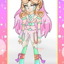 pastel pastelgirl pink boots curlyhair