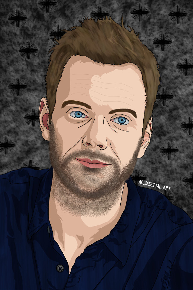 I've started watching the show the Community it's really funny this is Jeff Winger.  #AC_DIGITAL_ART #art #artist #picsart #picsartedit #painting #drawing #portrait #people #guy #community