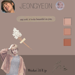 jeongyeon brownaesthetic lightbrown twicejeongyeon twice freetoedit