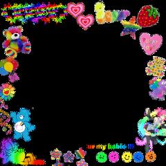 freetoedit rainbowcore rainbow scenecore