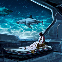 underwater surreal surreality surrealistic realistic freetoedit ircwaterworld waterworld