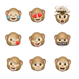 freetoedit animoji monkeyface apple
