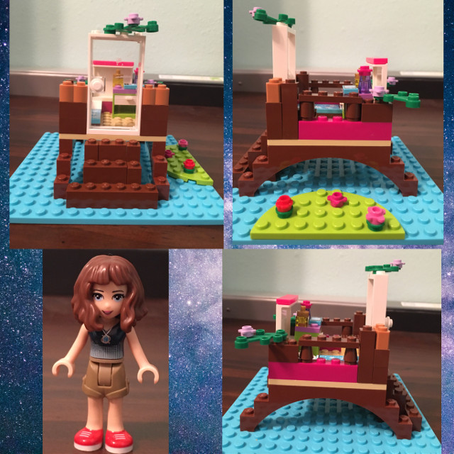 I know, how childish of me, but i absolutely love building with legos. Heres the creation I made today plus a minifigure i made to look (kinda) like me. Im actually proud of this little house i made. Have a good day! #freetoedit