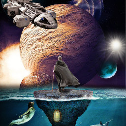 freetoedit island sea water planet