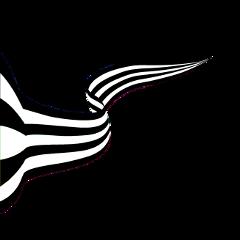 freetoedit banner blackandwhite ribbon colorpaint