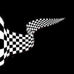 freetoedit blackandwhite checkered banner ribbon