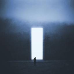 madewithpicsart mystery surreal glow dark