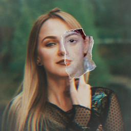 freetoedit girl woman glitchy classic