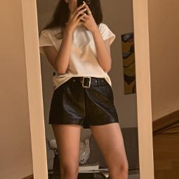freetoedit selfie spiegel outfit style
