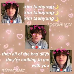 taehyung bts v winterbear cute freetoedit ectoocute toocute