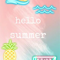 freetoedit summer ete plage funny