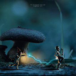 conceptart forest photomanipulation freetoedit madewithpicsart