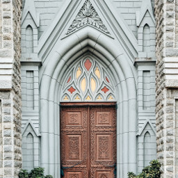 cathedral door doorway monument christ pcdoortraits