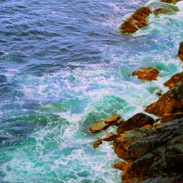 freetoedit cliff nature travel beach