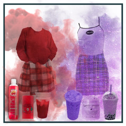 aesthetic clothes purpleaesthetic redaesthetic red freetoedit