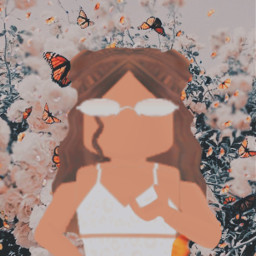 flowers aestheticbackground roblox robloxcharacter gfxforroblox