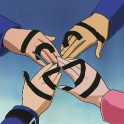 yugioh vintage anime friendship friends