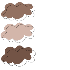 brown colorpalette beige aesthetic color freetoedit