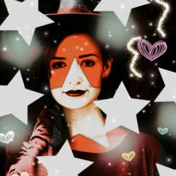 freetoedit stars brush red heartsticker rcsilverstars silverstars