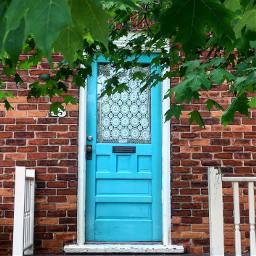 blue doors door crochet curtains pcdoortraits doortraits
