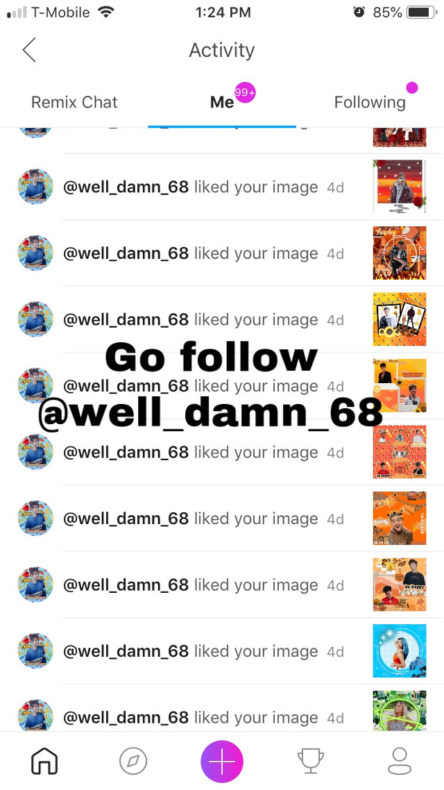 Thanks for the spam @well_damn_68 🔥🖤