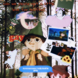 moominvalley snufkin wholsome moomins freetoedit