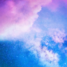 freetoedit galaxy clouds aesthetic sky