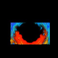 freetoedit fortnite fire flames blue