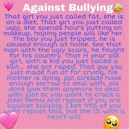 freetoedit remix antibullying bullyingawarness bullying